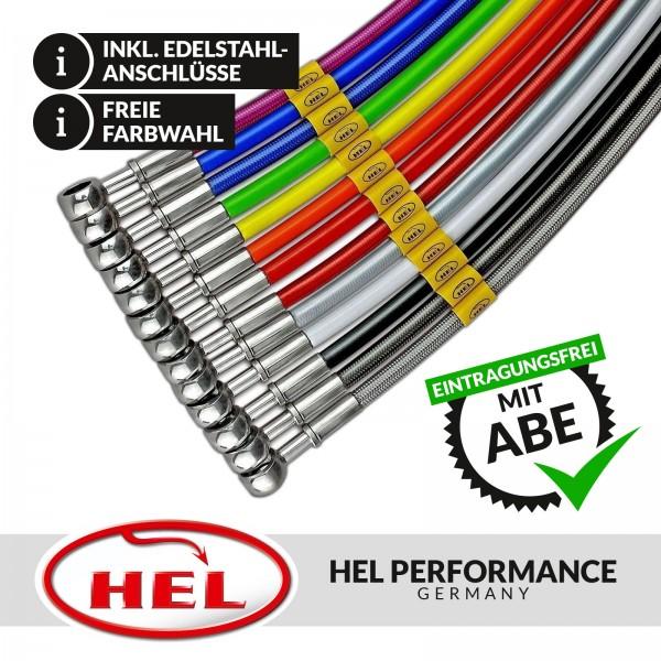 HEL Stahlflex Bremsleitungen (Set) Audi Q7 4L, mit ABE