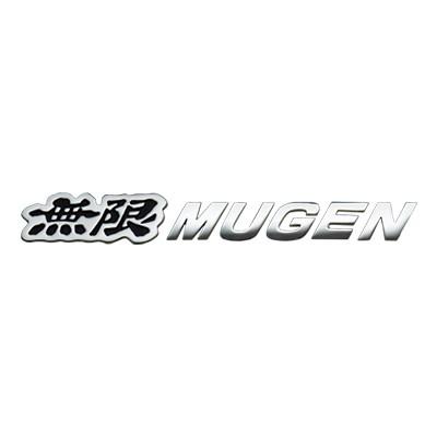 MUGEN Metall Emblem, Schwarz