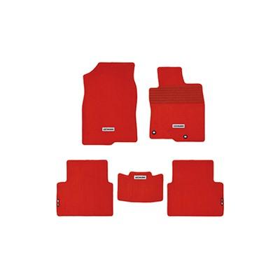 MUGEN Sportfußmatten Set Rot für Honda Civic Type R FK8