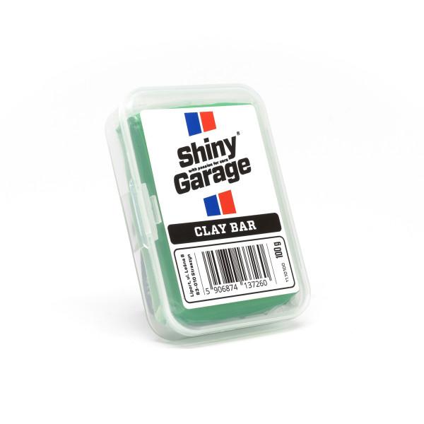 Shiny Garage Green Clay Bar 100g, Reinigungsknete
