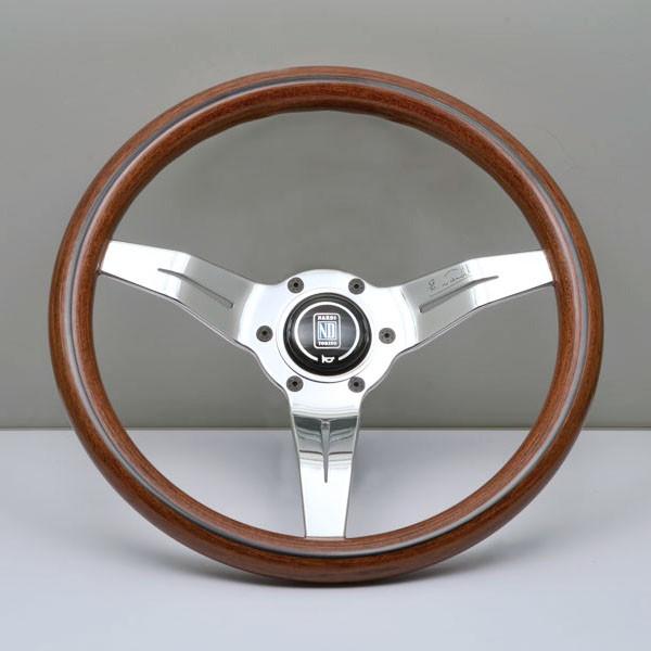 NARDI DEEP CORN Holzlenkrad 330mm Silber/Holz