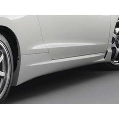 MUGEN Seitenschweller für Honda CR-Z, Premiumweiß lackiert
